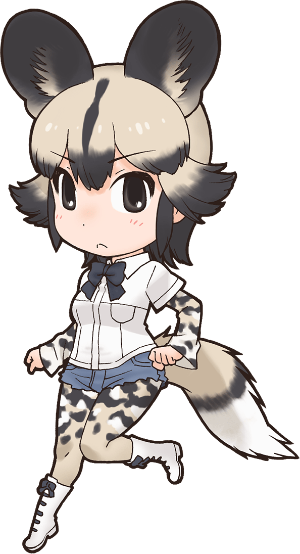 African Cosplay Costume from Kemono Friends