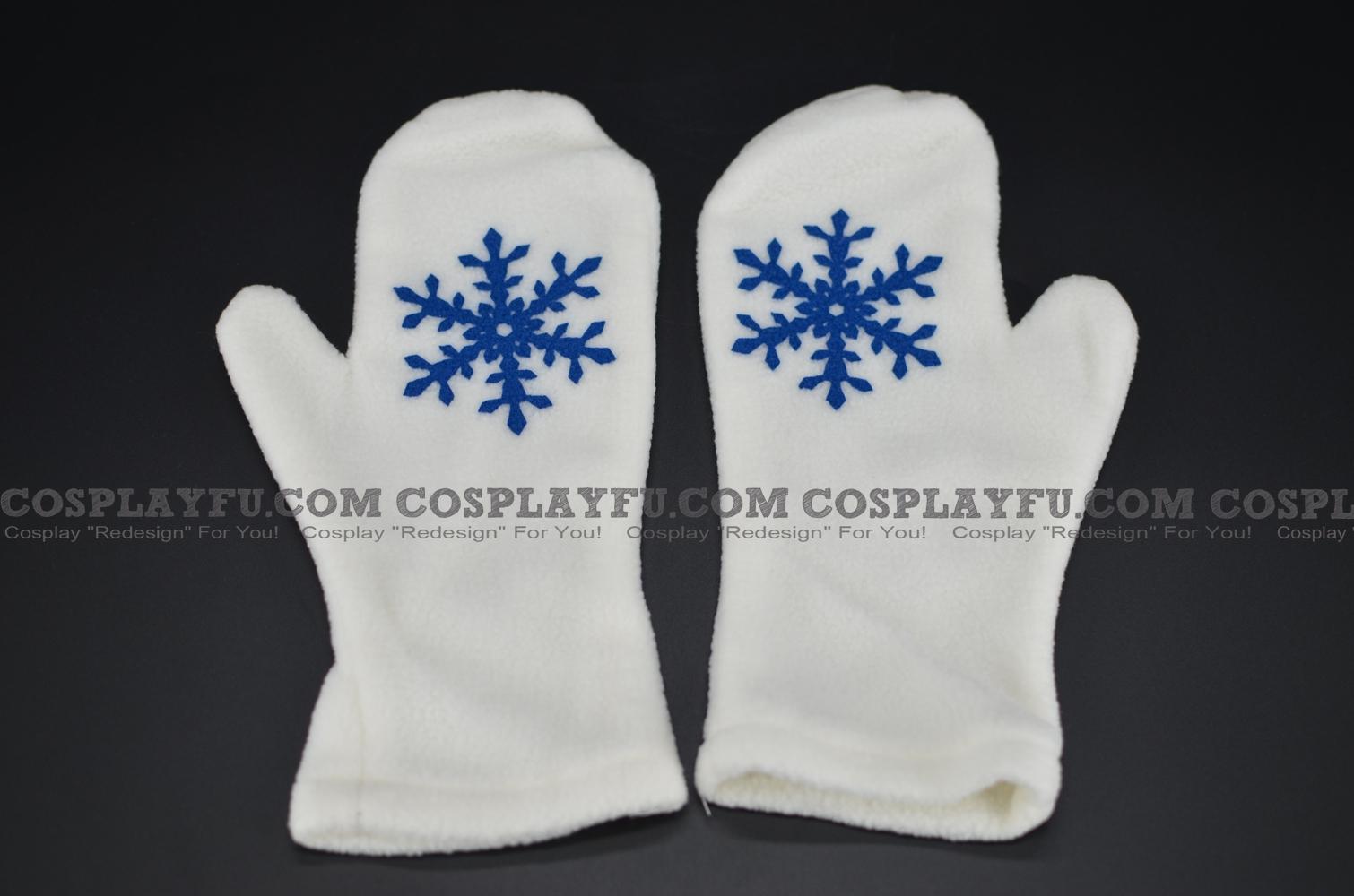 Vocaloid Miku Hatsune Cosplay (Snow)