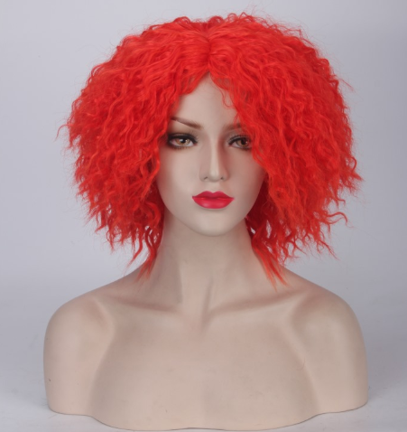 Red Queen wig from Alice in Wonderland (2010 film)