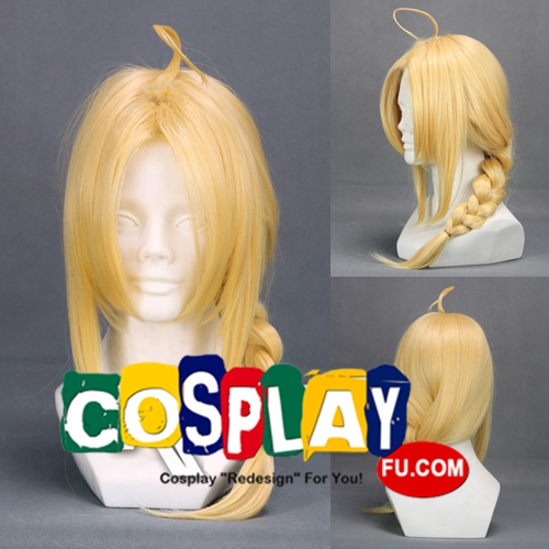 45 cm Medium Braid Blonde Wig (6198)