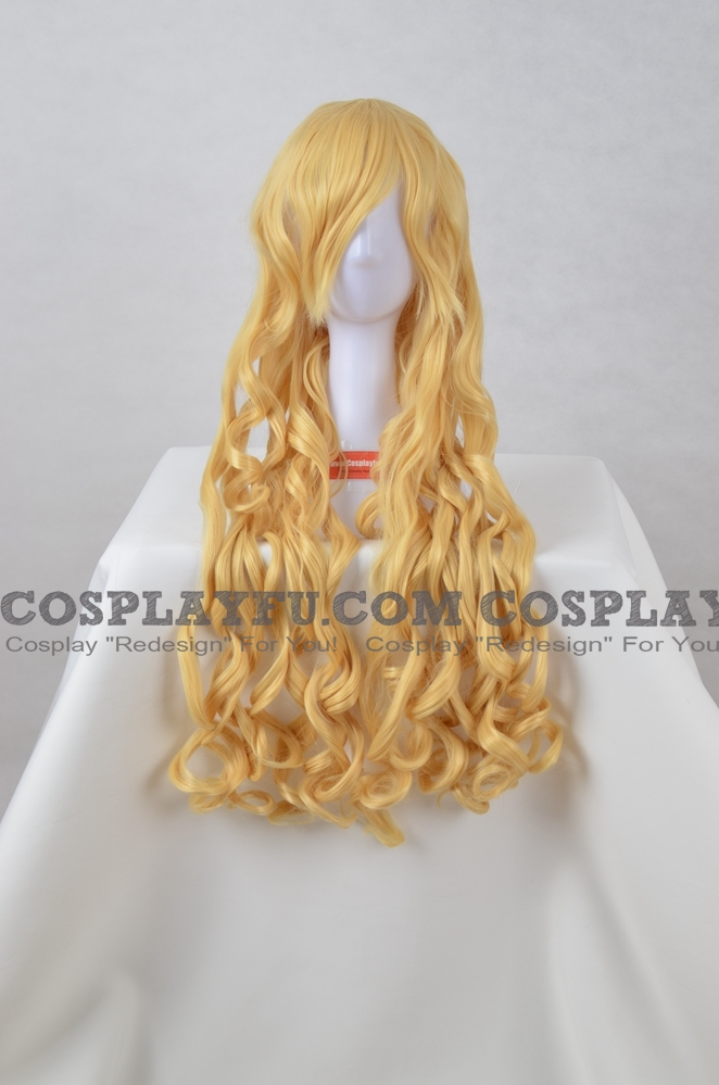 Long Curly Blonde Wig (6711)