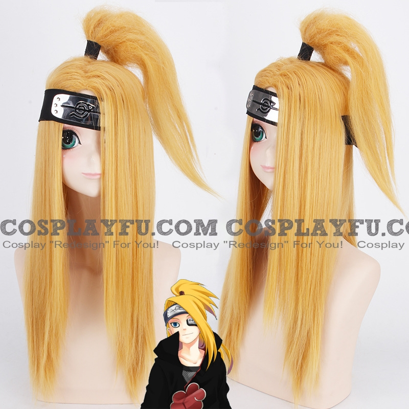 60 cm Long Pony Tail Blonde Wig (7715)