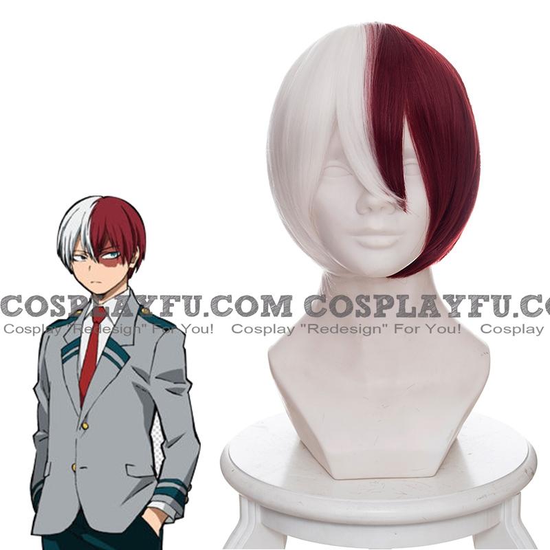 Shoto Todoroki wig from My Hero Academia