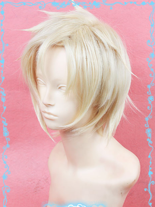 Short Light Blonde Wig (7589)
