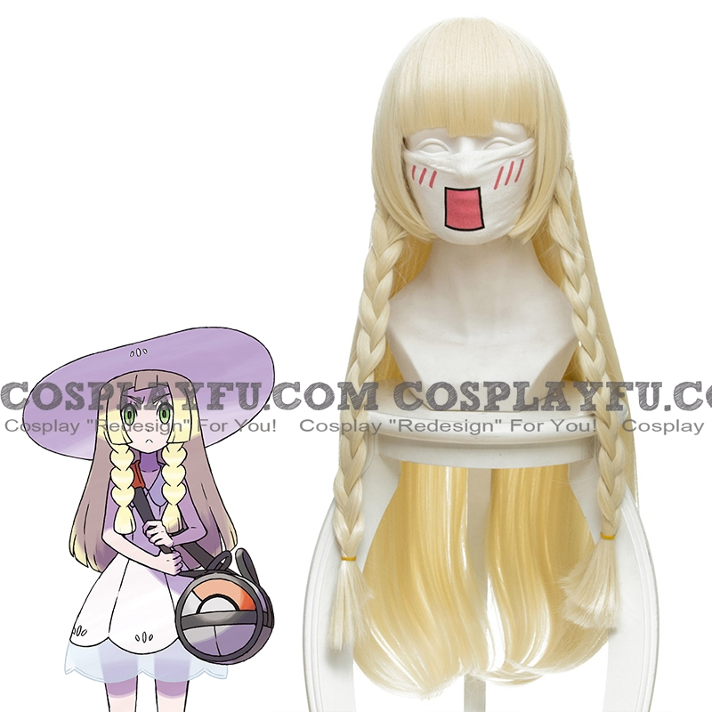 Long Straight Braids Blonde Wig (6714)