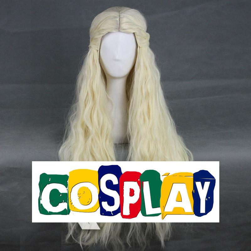 Long Wavy Blonde Wig (7371)