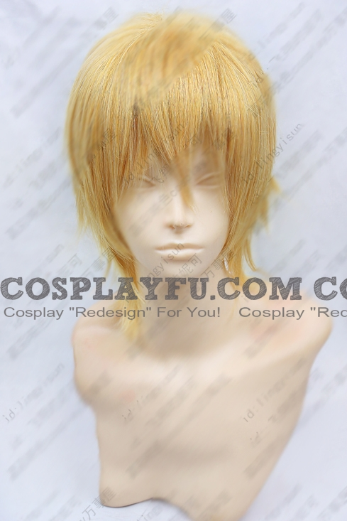 Short Straight Blonde Wig (6884)