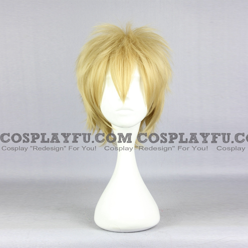 Short Straight Blonde Wig (6648)