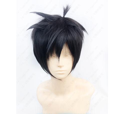 Short Black Wig (7847)