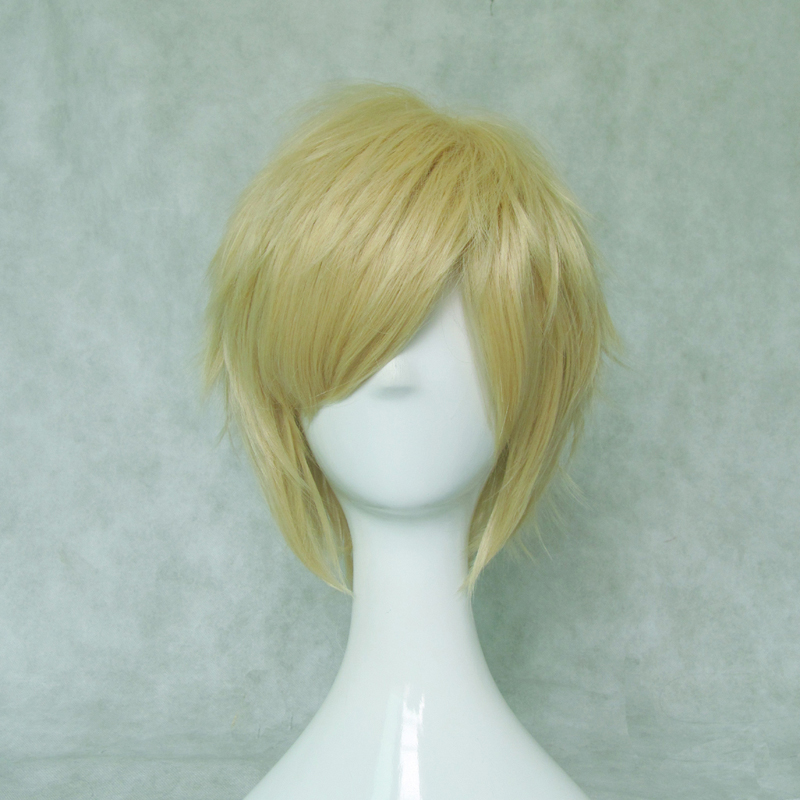 Short Light Blonde Wig (8454)