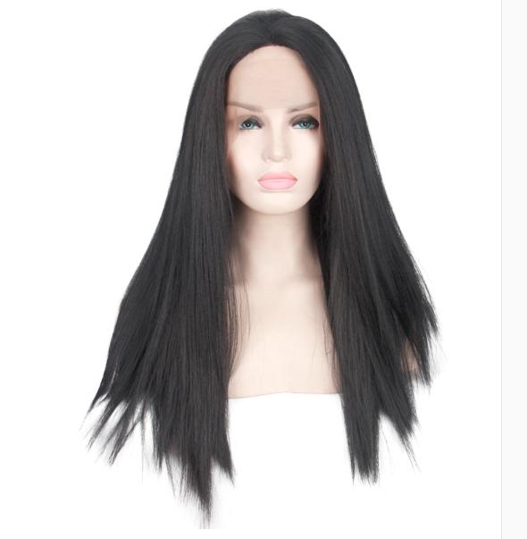 Long Black Wig (8965)