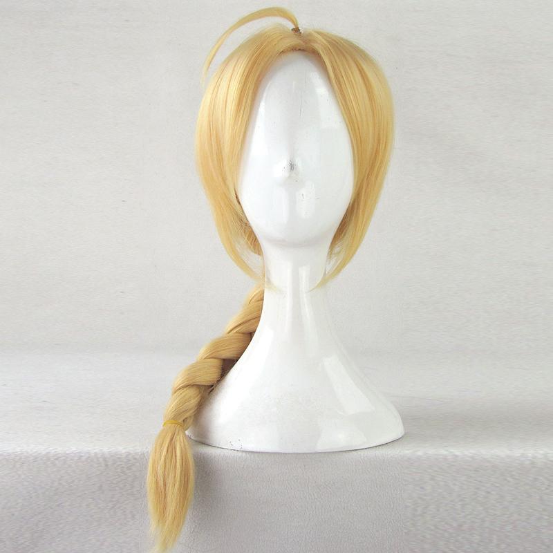 Long Blonde Braid Wig (8800)