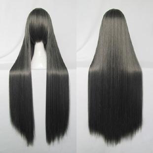 Long Straight Black Wig (8643)