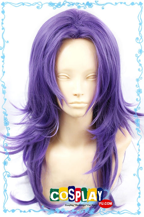 Medium Purple Wig (7851)