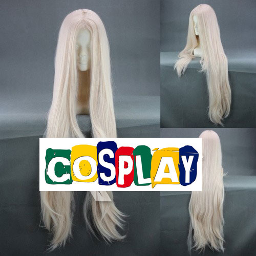 Long Straight Blonde Wig (8071)