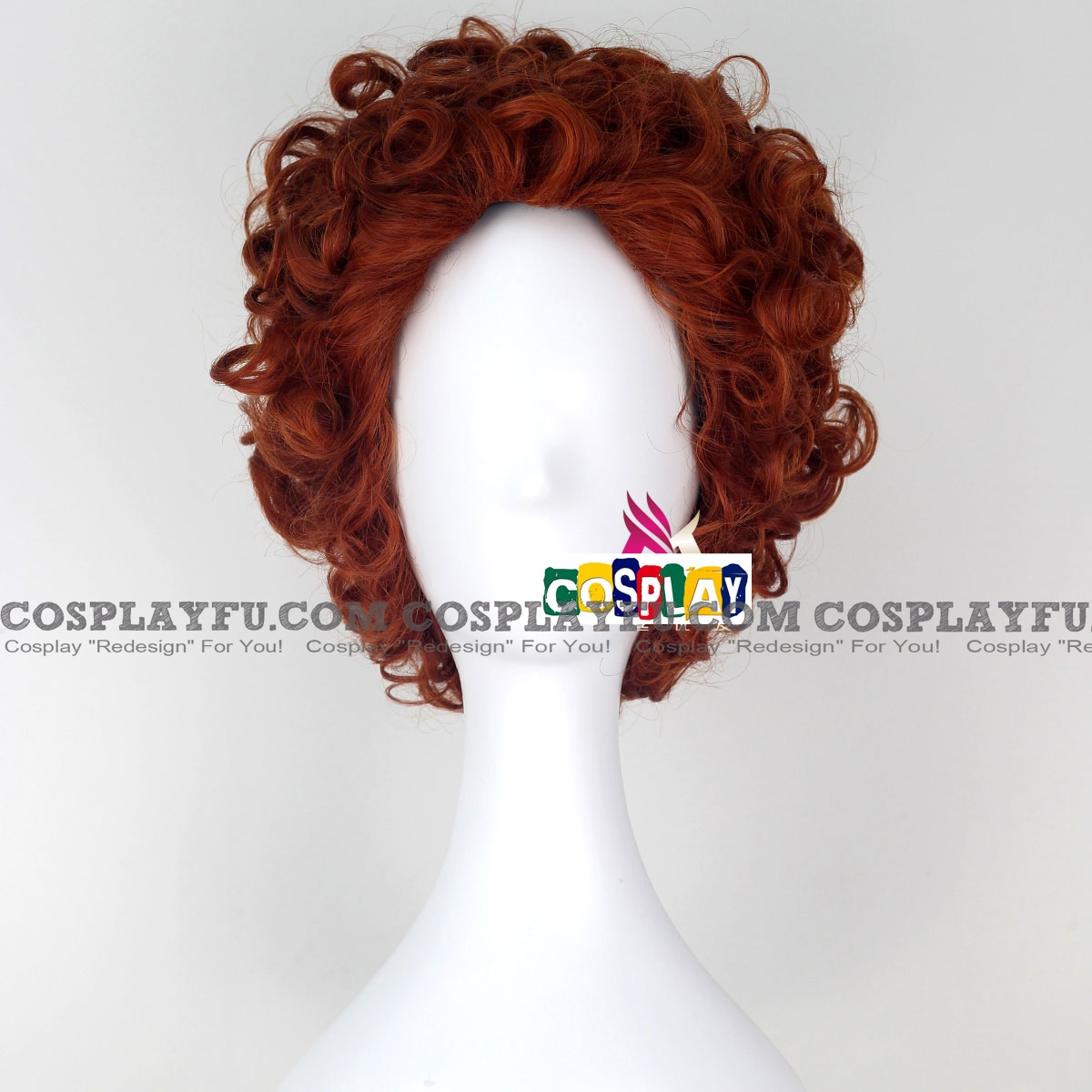 Short Curly Brown Wig (8105)