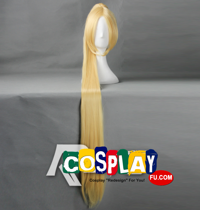 Long Straight Blonde Pony Tail Wig (7876)