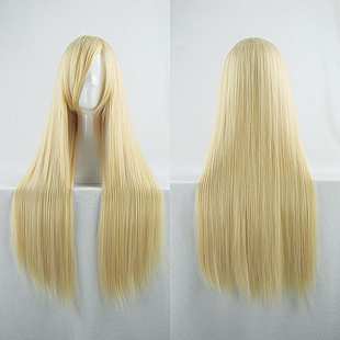 Long Straight Blonde Wig (8597)