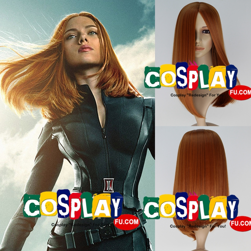 Natasha Romanoff wig from Captain America