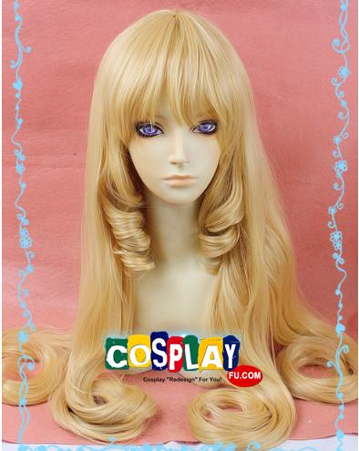 Long Wavy Blonde Wig (6170)