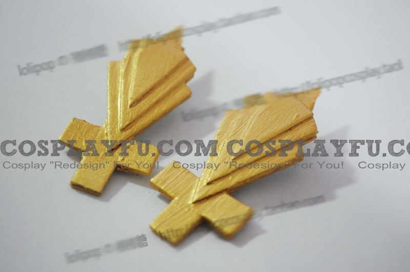 Rin Hair Clips (Meltdown) from Vocaloid