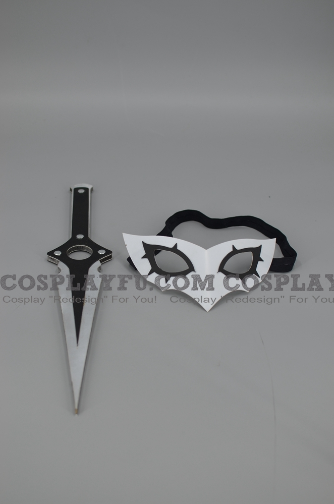 Protagonist Mask and Sword from Persona 5 (952)