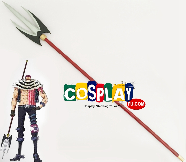 Katakuri Charlotte Cosplay Costume Spear from One Piece (1825)