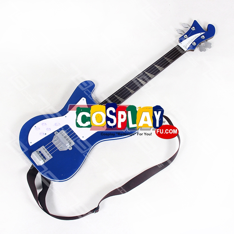 Haruko Haruhara Cosplay Costume Guitar from FLCL (2692)