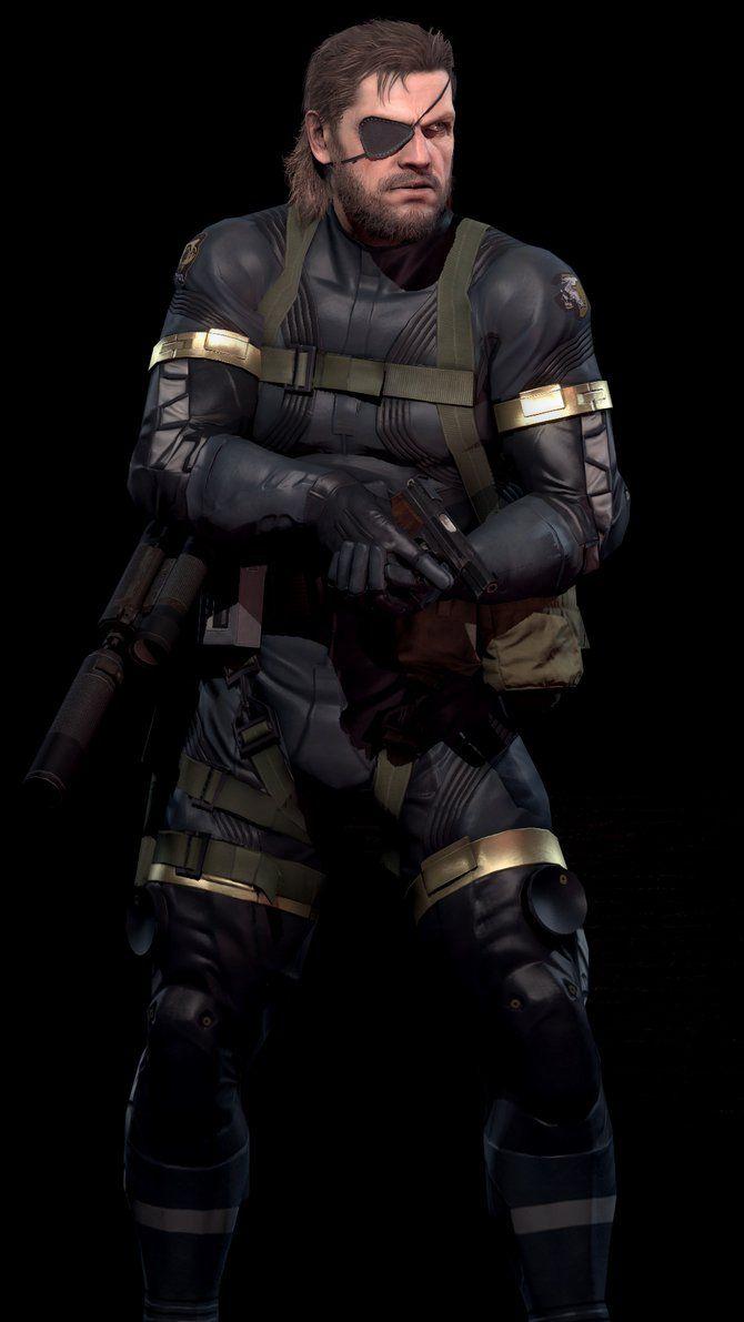 Custom Big Boss Cosplay Costume From Metal Gear Solid