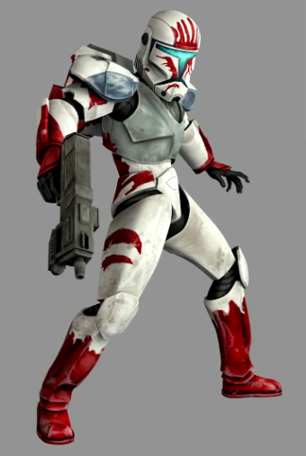 Star Wars: Republic Commando Sev Kostüme