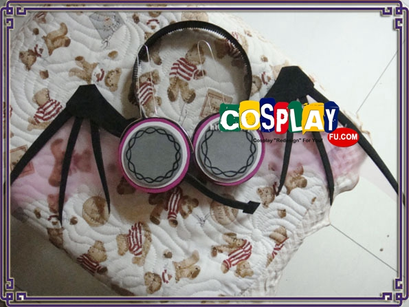 Teto Kasane Cosplay Costume Headphone from Vocaloid (793)