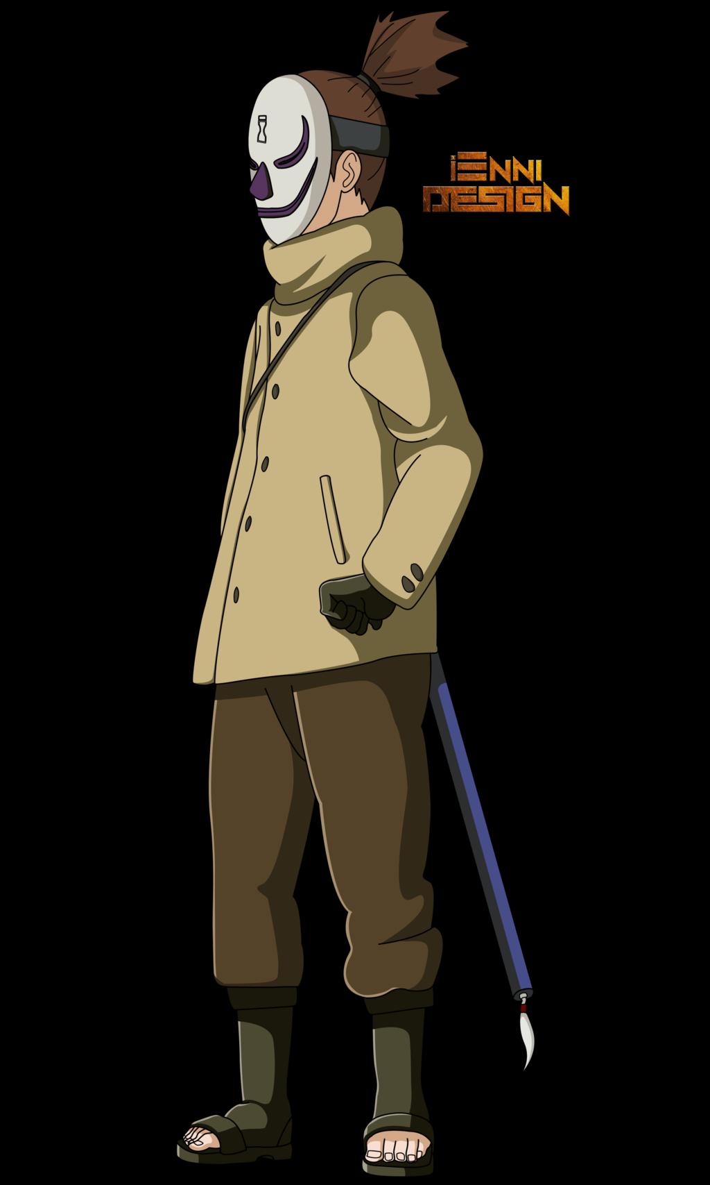 Araya Cosplay Costume from Naruto