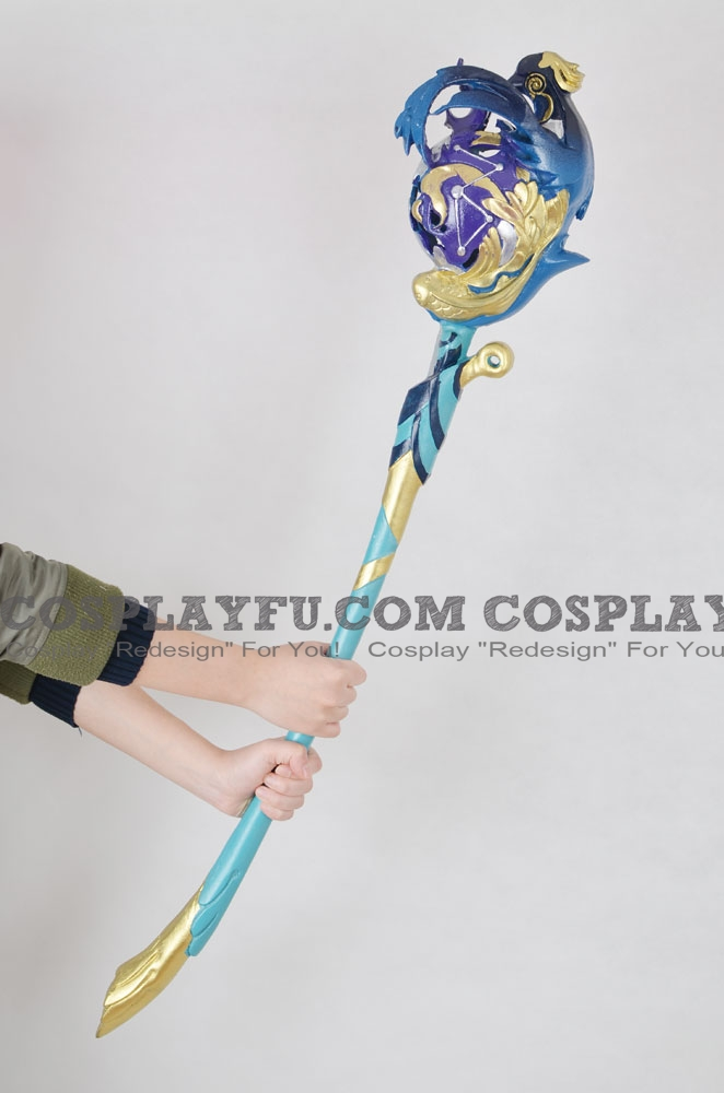 Yaobikuni Cosplay Costume Staff from Onmyoji (2052)