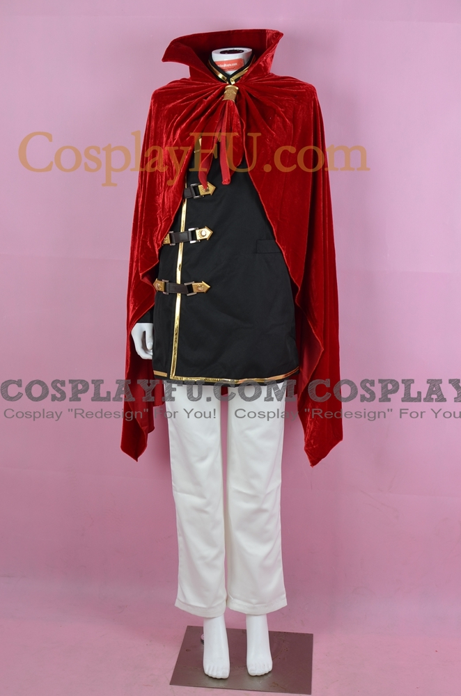 Final Fantasy Type-0 Machina Kunagiri Costume (163-C14)