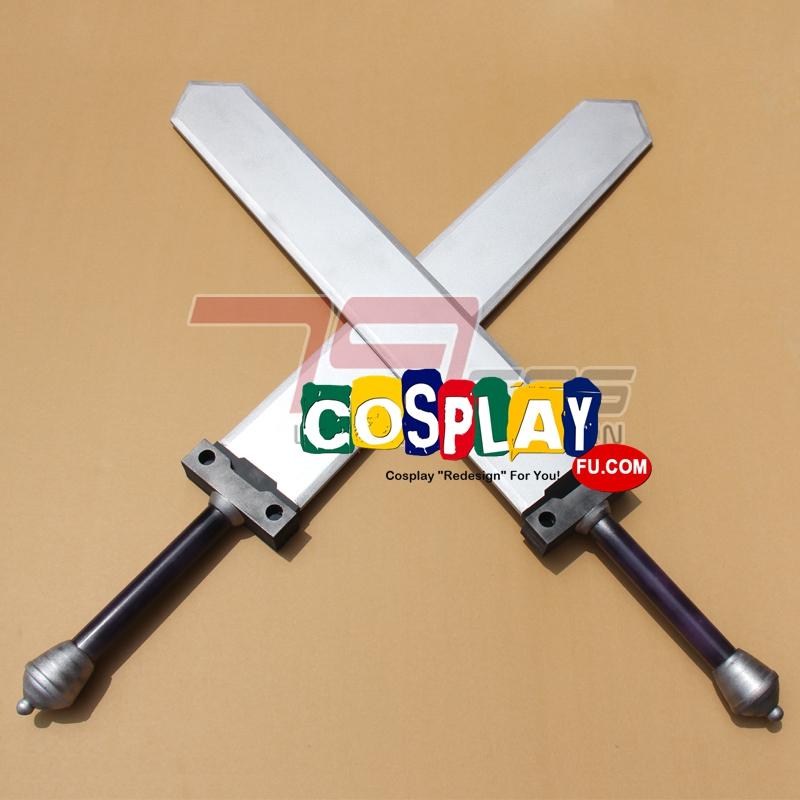 Abel Cosplay Costume Swords from Unlight (3806)