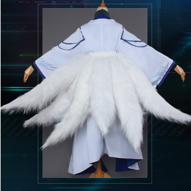Kaga Aircraft CarrierCosplay Costume Tails from Azur Lane (1781)