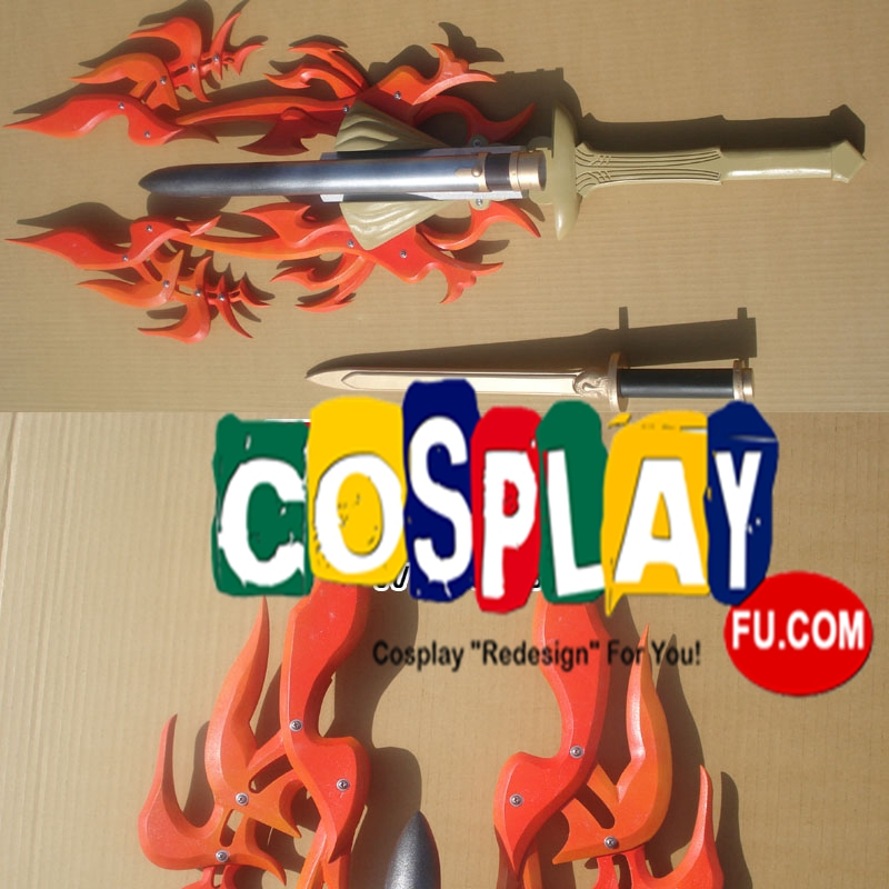 Final Fantasy XIII Noel Kreiss Cosplay (Flame Fossil)