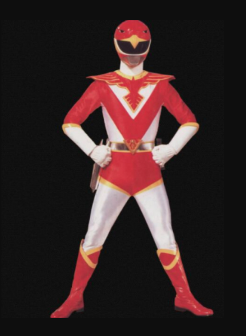 Ryu Tendo Cosplay Costume from Choujin Sentai Jetman