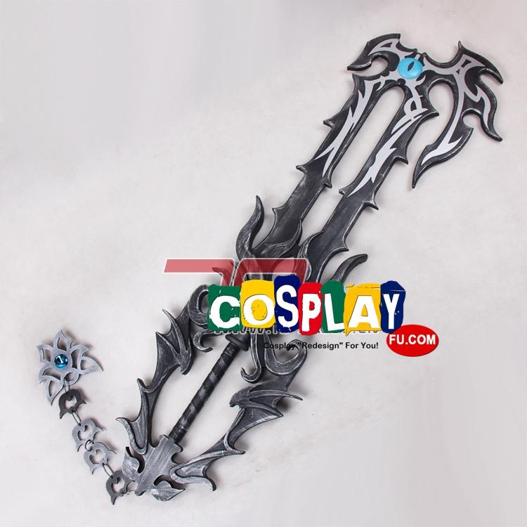 Xehanort Cosplay Costume Sword from Kingdom Hearts (3823)