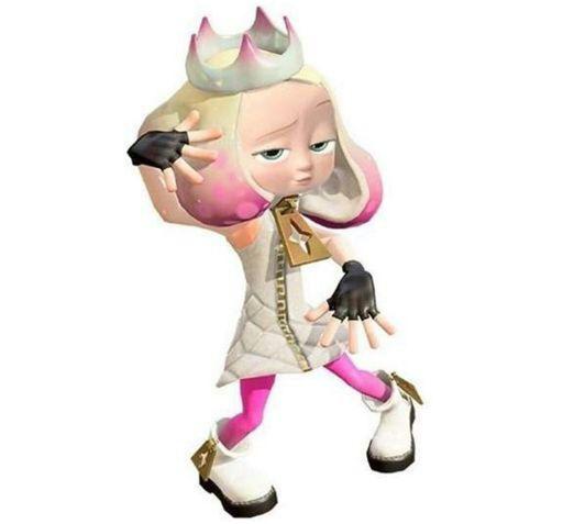 Pearl Cosplay Costume from Splatoon