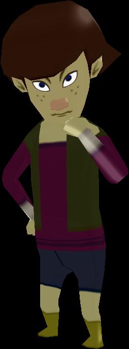 Kamo Cosplay Costume from The Legend of Zelda: The Wind Waker