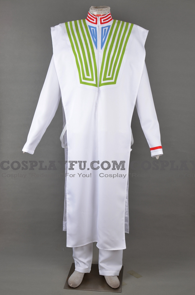 Hakuno Kishinami Cosplay Costume from Fate Extra