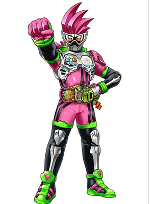 Kamen Rider Ex-Aid Cosplay Costume from All Kamen Rider: Rider Revolution