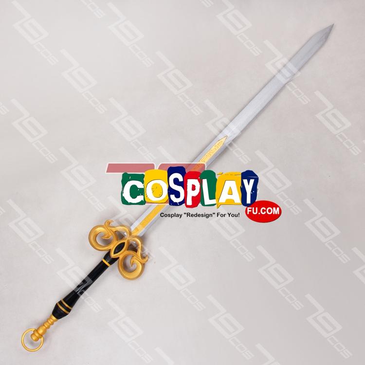 Alicia Cosplay Costume Sword from Queen's Blade Grimoire (3926)