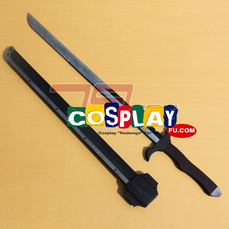 Arthur Techno Smith Cosplay Costume Sword from Million Arthur (3115)