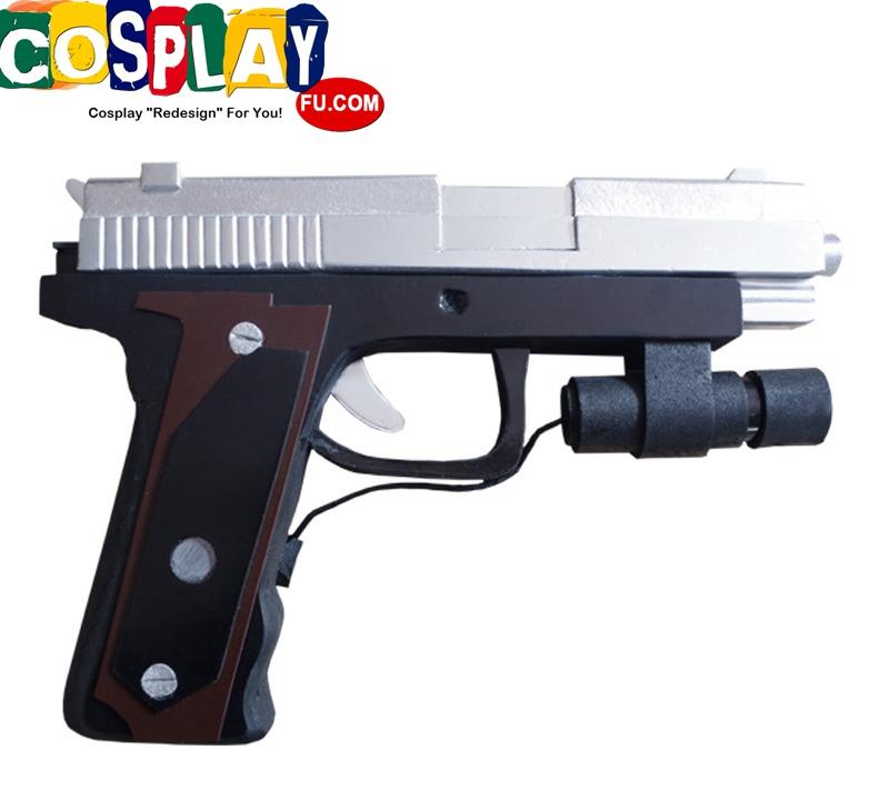 Leon Scott Kennedy Cosplay Costume Gun From Resident Evil 4 1624