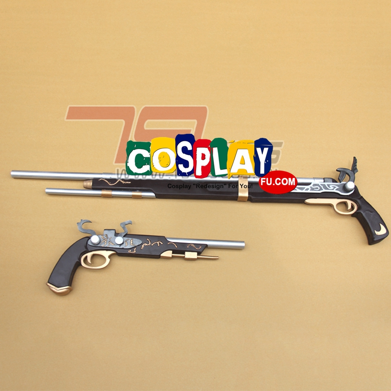 Kurumi Tokisaki Cosplay Costume Gun from Date A Live (3912)