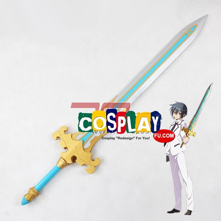 Kamito Kazehaya Cosplay Costume Sword from Bladedance of Elementalers (3192)