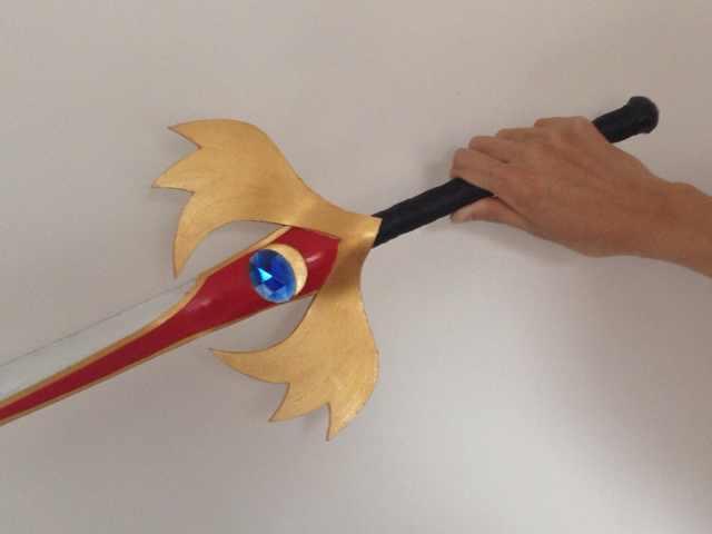 Yuusuke Godai Cosplay Costume Sword from Kamen Rider Kuuga (2219)