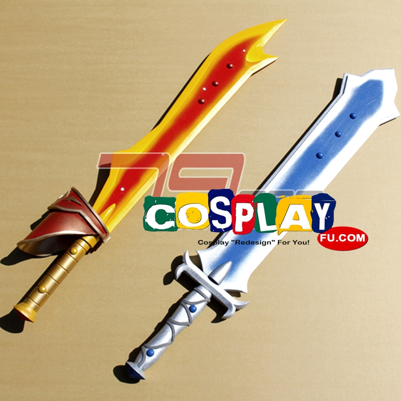 Lloyd Irving Cosplay Costume Swords from Tales of Symphonia (4042)